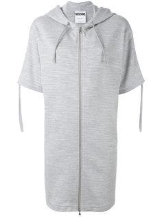 платье-толстовка на молнии Moschino