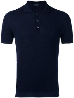 short sleeve polo shirt Zanone