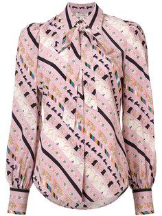 блуза с узором Marc Jacobs