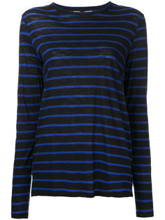 relaxed striped top Proenza Schouler