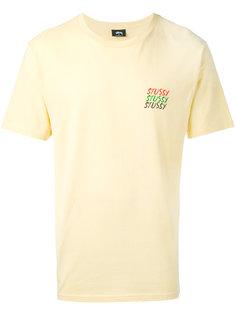 футболка с графическим принтом Stussy