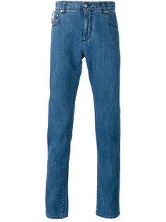 джинсы скинни с подкладкой  Isaia