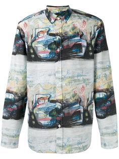 рубашка с абстрактным рисунком Burberry
