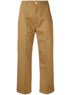 укороченные брюки Golden Goose Deluxe Brand