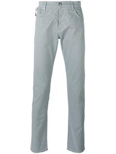 классические брюки-чинос Isaia