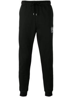 спортивные штаны узкого кроя Fendi