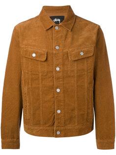 куртка в рубчик с нагрудными карманами Stussy