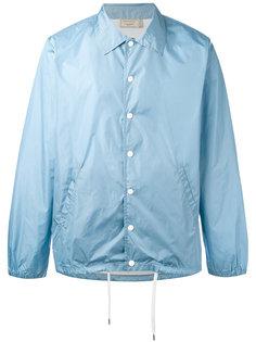 легкая куртка с принтом-логотипом Maison Kitsuné