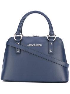 маленькая сумка-тоут с двумя ручками Armani Jeans