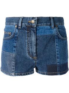 шорты лоскутного кроя McQ Alexander McQueen