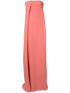 strapless gown Derek Lam