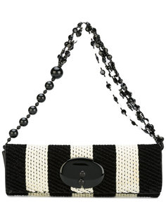 two-tone beaded strap bag Giorgio Armani Vintage