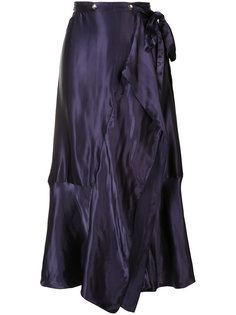 плиссированная юбка Nina Ricci