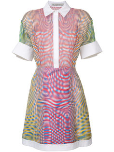 платье в полоску с градиентным эффектом Mary Katrantzou