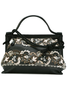 embroidered floral bag Giorgio Armani Vintage