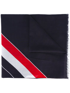 полосатый шарф Thom Browne