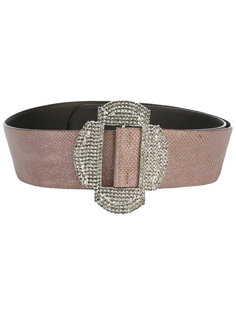 glass stone detail belt Giorgio Armani Vintage