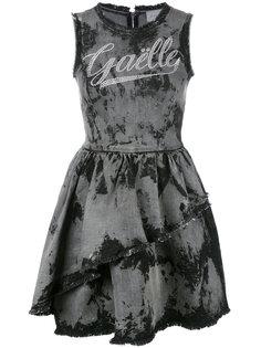 джинсовое платье с бахромой  Gaelle Bonheur