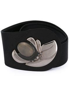 curved floral orb belt Giorgio Armani Vintage