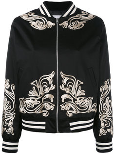 куртка-бомбер  с аппликацией металлик Gaelle Bonheur