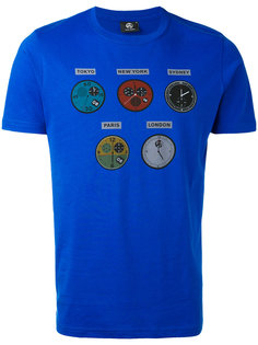 футболка с принтом time Ps By Paul Smith
