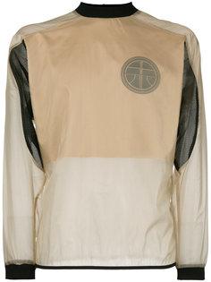 sheer panelled sweatshirt Astrid Andersen