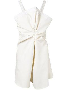 knotted mini dress Jacquemus