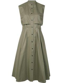 расклешенное платье на пуговицах Tome