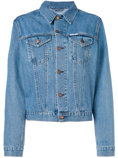 embroidered denim jacket Forte Couture
