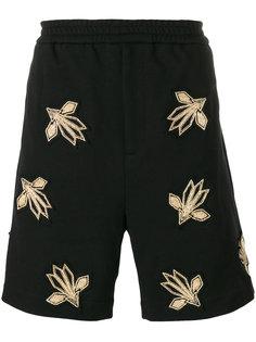 спортивные шорты с вышивкой Les Hommes