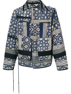 quilted patchwork jacket Craig Green