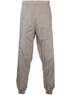 checked jogging trousers Astrid Andersen