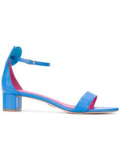 босоножки на каблуках-столбиках Oscar Tiye