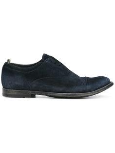 Anatomia laceless shoes Officine Creative