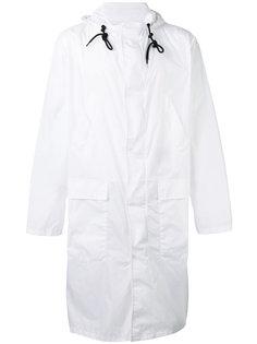 пальто с застежкой на молнию MSGM