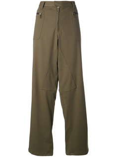 dropped crotch wide trousers Romeo Gigli Vintage