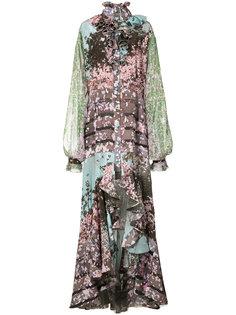 платье с принтом Sakura Fence Natasha Zinko