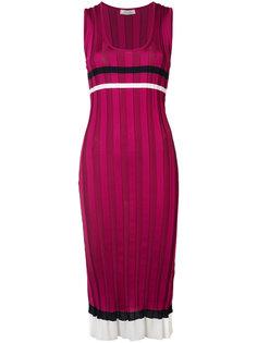 платье в полоску Nina Ricci