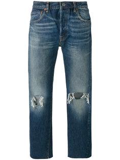 джинсы с прорехами на коленях  Levis Vintage Clothing
