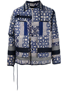 tile print jacket Craig Green