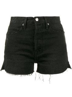 frayed denim short shorts Frame Denim