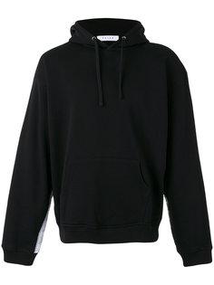 striped sleeve hoodie Futur