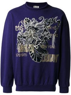embroidered sweatshirt Kansai Yamamoto Vintage