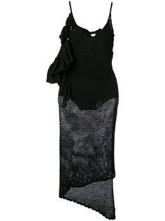 sheer knitted dress Magda Butrym