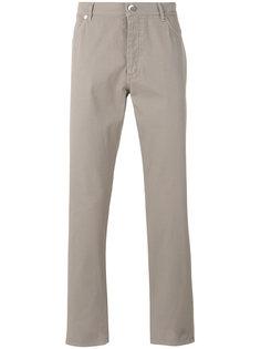 брюки пятикарманного дизайна Brunello Cucinelli