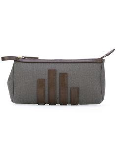 straps appliqué clutch Mismo