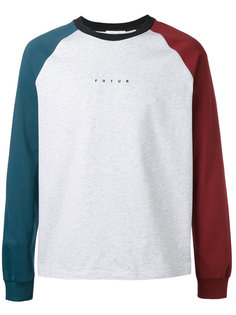 colour-block sweatshirt  Futur
