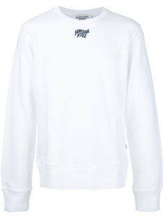 logo patch sweatshirt Sankuanz