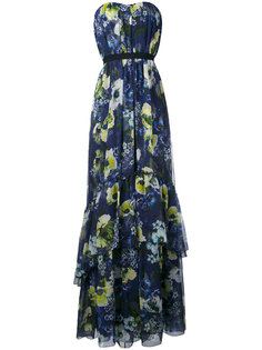 long floral sleeveless dress Erdem