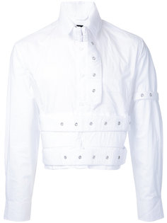 cropped eyelet studded shirt Craig Green